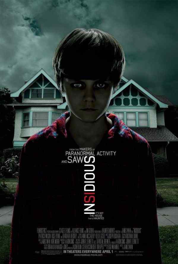 insidoius Horror Sales: Insidious, #44 film and #1 DVD