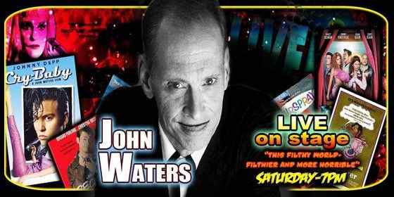 Horror Society: JOHN WATERS at DAYS OF THE DEAD III   www.horrorsociety.com