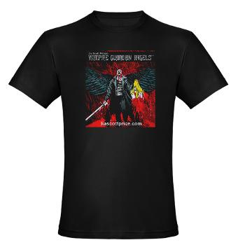 Horror Society: Vampire Guardian Angels Comic Book T shirts Now Available!   www.horrorsociety.com