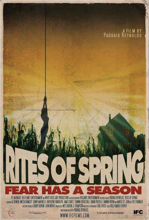 Horror Society: IFC MIDNIGHT Presents RITES OF SPRING    www.horrorsociety.com