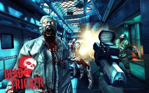 Horror Society: Horror Apps # 16: DEAD TRIGGER   www.horrorsociety.com