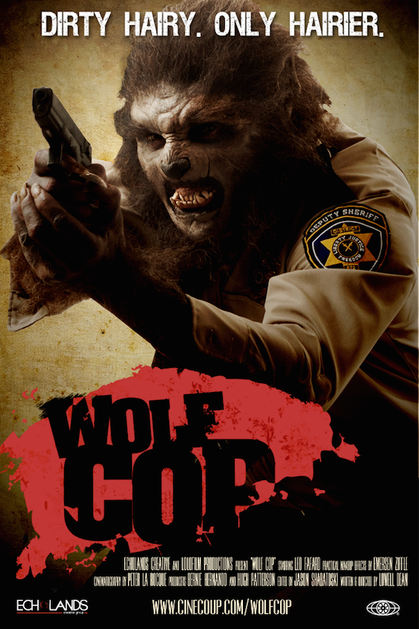 Horror Society: Hes Dirty, Hes Hairy...Hes Wolf Cop In Hilarious New Trailer   www.horrorsociety.com