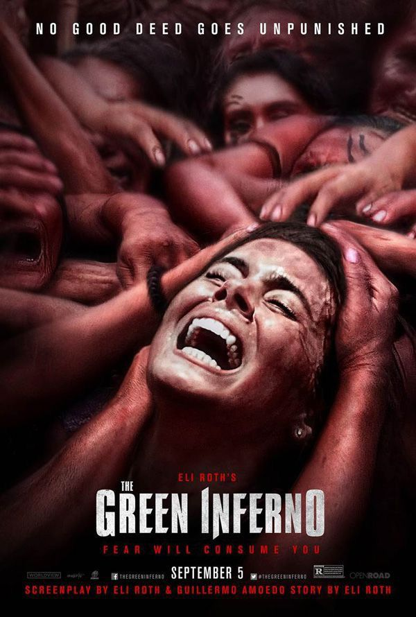 eli roths the green inferno poster premiere horror