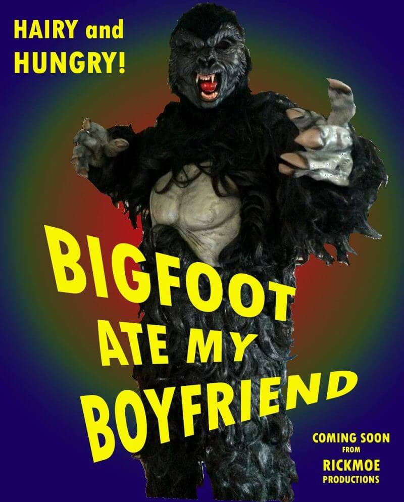 Image result for image of a hungry Bigfoot