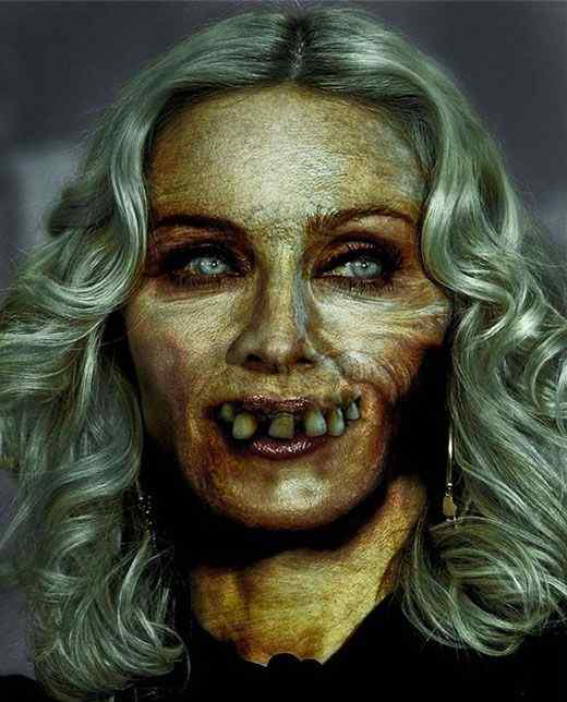 Celebrity Zombies - Zombie Portraits