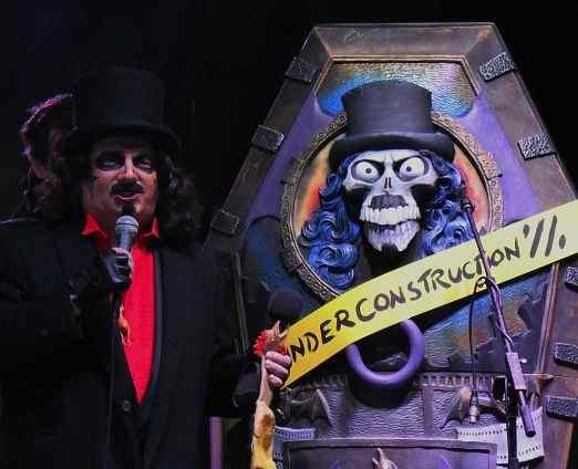 Acme Design Creates New Coffin For Horror Host Legend