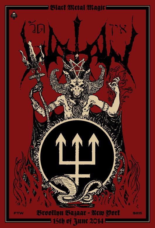 Watain Announces Special Performance In Brooklyn  Horror Society-6562