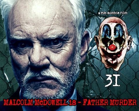 Malcolm McDowell Cast in Rob Zombie's '31'