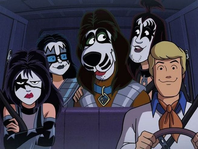 kiss meets scooby