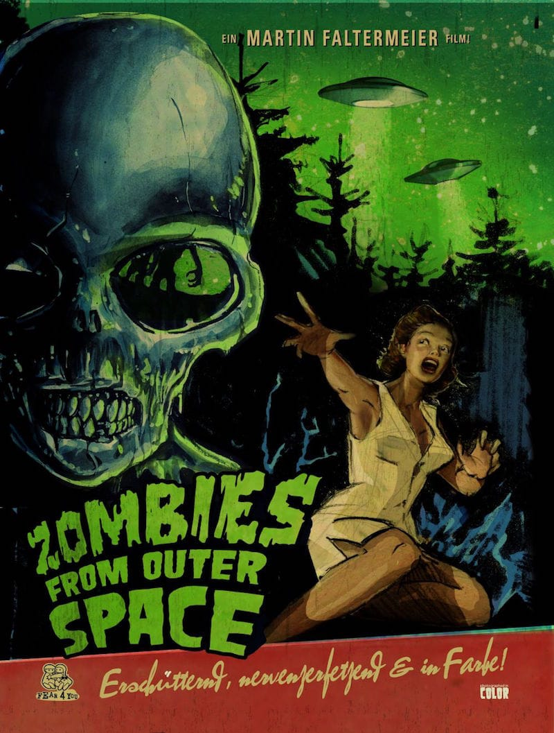 Zombies from outer space review horror society for From outer space