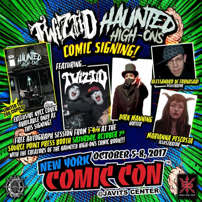 Haunted House Nyc Youtube: TWIZTID Reveal Upcoming Comic Book And New York ComicCon