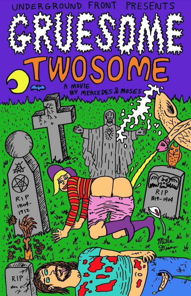 TROMA ENTERTAINMENT Mercedes the Muse Present GRUESOME TWOSOME